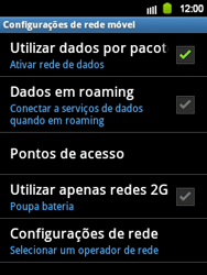 Samsung Galaxy Y - Internet - Como configurar seu celular para navegar através de Vivo Internet - Etapa 7