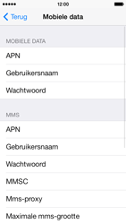 Apple iPhone 5c - Internet - Handmatig instellen - Stap 7