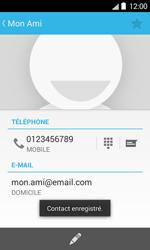 Bouygues Telecom Bs 403 - Contact, Appels, SMS/MMS - Ajouter un contact - Étape 12