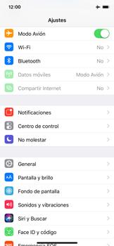 Apple iPhone X - Funciones básicas - Activar o desactivar el modo avión - Paso 4