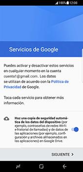 Samsung Galaxy S8 - E-mail - Configurar Gmail - Paso 14