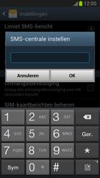 Samsung N7100 Galaxy Note II - SMS - Handmatig instellen - Stap 5