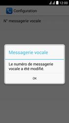 Huawei Y625 - Messagerie vocale - configuration manuelle - Étape 12