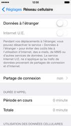 Apple iPhone 5c (iOS 8) - Internet et connexion - Partager votre connexion en Wi-Fi - Étape 4