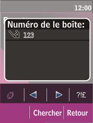 Nokia C2-03 - Messagerie vocale - configuration manuelle - Étape 7