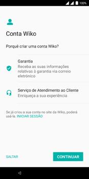 Wiko View Dual SIM - Primeiros passos - Como ligar o telemóvel pela primeira vez -  22