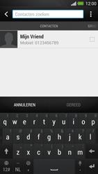 HTC One - MMS - Afbeeldingen verzenden - Stap 4