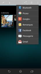 Sony Xpéria Z - Photos, vidéos, musique - Envoyer une photo via Bluetooth - Étape 9