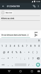 Motorola Moto E (1st Gen) (Lollipop) - Contact, Appels, SMS/MMS - Envoyer un MMS - Étape 11