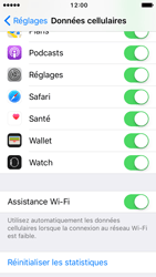 Apple iPhone 5 iOS 10 - Internet - Désactiver Assistance WiFi - Étape 5