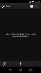 Sony C1905 Xperia M - Wifi - configuration manuelle - Étape 4