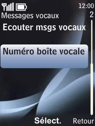 Nokia 6700 classic - Messagerie vocale - configuration manuelle - Étape 6