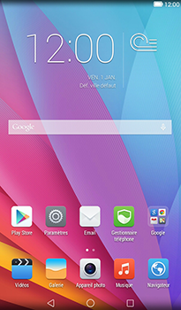 Huawei MediaPad T1 (7.0) - Internet - Navigation sur internet - Étape 1