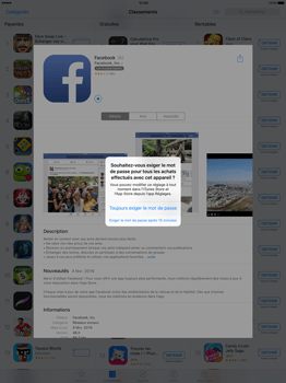Apple iPad Pro 12.9 (1st gen) - iOS 9 - Applications - Télécharger des applications - Étape 24