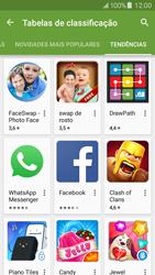 Samsung Galaxy J5 - Aplicações - Como pesquisar e instalar aplicações -  12