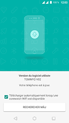 Wiko Tommy 2 - Aller plus loin - Mettre à jour logiciel interne de votre mobile - Étape 8