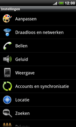 HTC S510e Desire S - Internet - Uitzetten - Stap 4