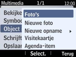 Nokia Asha 210 - MMS - Afbeeldingen verzenden - Stap 14