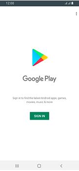Samsung Galaxy A40 - Applications - Create an account - Step 4