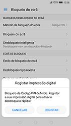 Huawei P10 Lite - Segurança - Como ativar o código de bloqueio do ecrã -  10
