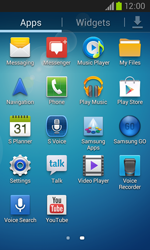 Samsung I8260 Galaxy Core - Internet - Enable or disable - Step 3