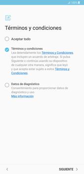Samsung Galaxy Note 8 - Primeros pasos - Activar el equipo - Paso 7