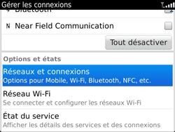 BlackBerry 9900 Bold Touch - Réseau - Utilisation à l