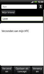 HTC A8181 Desire - E-mail - hoe te versturen - Stap 7