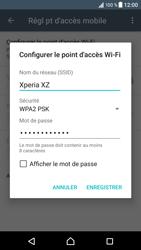 Sony Xperia XZ (F8331) - Internet et connexion - Partager votre connexion en Wi-Fi - Étape 8