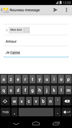 LG D821 Google Nexus 5 - E-mail - envoyer un e-mail - Étape 8