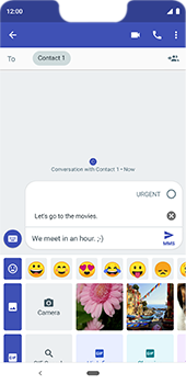 Google Pixel 3XL - MMS - Sending a picture message - Step 10