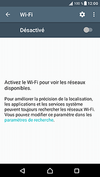 Sony Xperia XA1 Ultra - Internet et connexion - Accéder au réseau Wi-Fi - Étape 5