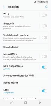 Samsung Galaxy S8 - Wi-Fi - Como ligar a uma rede Wi-Fi -  5