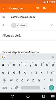 Motorola Moto E4 Plus - E-mails - Envoyer un e-mail - Étape 8
