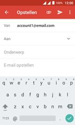 Alcatel Pixi 4 (4) - E-mail - Hoe te versturen - Stap 5