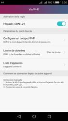 Huawei Y5 II Dual Sim - Internet et connexion - Partager votre connexion en Wi-Fi - Étape 10