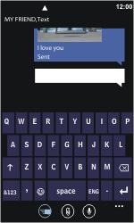 Nokia Lumia 800 - MMS - Sending pictures - Step 10