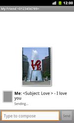 Google Nexus S - Mms - Sending a picture message - Step 10