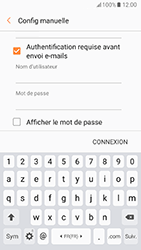 Samsung A520 Galaxy A5 (2017) - E-mail - Configuration manuelle - Étape 12