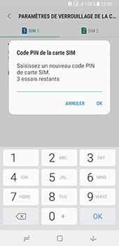 Samsung Galaxy A8 - Sécuriser votre mobile - Personnaliser le code PIN de votre carte SIM - Étape 10