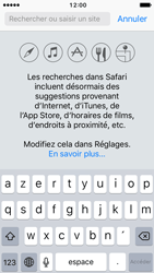 Apple iPhone SE - iOS 10 - Internet - Navigation sur Internet - Étape 3