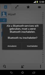 Sony Xperia E1 (D2005) - Contacten en data - Contacten overzetten via Bluetooth - Stap 10
