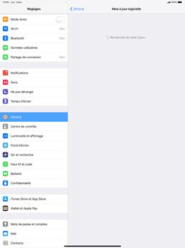 Apple iPad Pro 12.9 (2018) - Appareil - Mise à jour logicielle - Étape 6