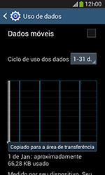 Samsung Galaxy Grand Neo - Rede móvel - Como ativar e desativar uma rede de dados - Etapa 7