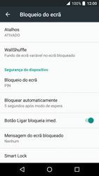 Alcatel Idol 4 VR - Segurança - Como ativar o código de bloqueio do ecrã -  13