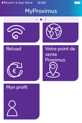 Apple iPhone 4 S iOS 9 - Applications - MyProximus - Étape 22