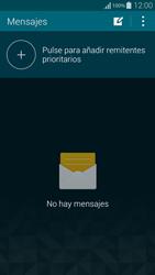 Samsung G850F Galaxy Alpha - Mensajería - Configurar el equipo para mensajes de texto - Paso 4