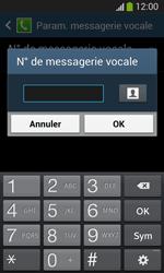 Samsung Galaxy S3 Lite (I8200) - Messagerie vocale - configuration manuelle - Étape 9