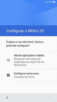 Huawei Mate 9 - Primeiros passos - Como ligar o telemóvel pela primeira vez -  13