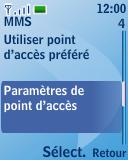 Nokia 3110 classic - Mms - Configuration manuelle - Étape 11